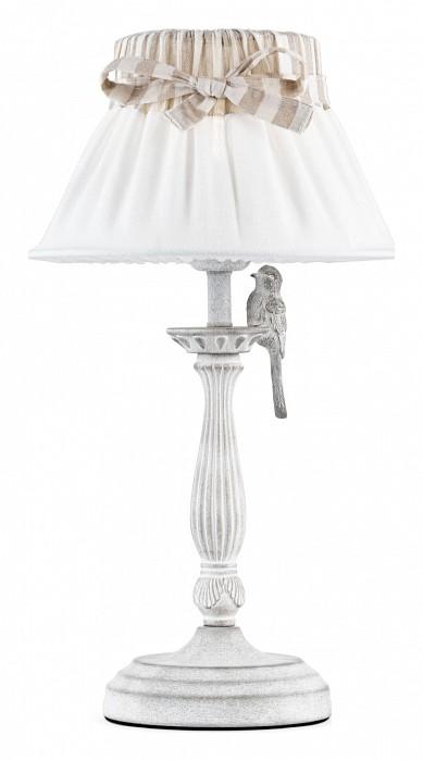 Фото Настольная лампа Maytoni E27 220В 40Вт Bird ARM013-11-W