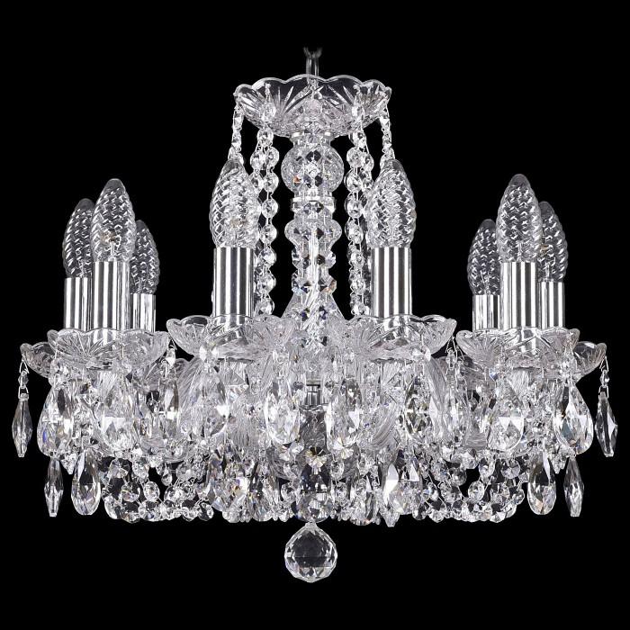 Фото Подвесная люстра Bohemia Ivele Crystal 1402 1402/10/141/Ni