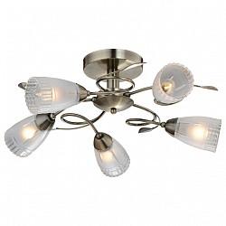 Люстра на штанге IDLamp5 или 6 ламп<br>Артикул - ID_858_5PF-oldbronze,Бренд - IDLamp (Италия),Коллекция - 858,Гарантия, месяцы - 24,Высота, мм - 260,Диаметр, мм - 560,Тип лампы - компактная люминесцентная [КЛЛ] ИЛИнакаливания ИЛИсветодиодная [LED],Общее кол-во ламп - 5,Напряжение питания лампы, В - 220,Максимальная мощность лампы, Вт - 60,Лампы в комплекте - отсутствуют,Цвет плафонов и подвесок - неокрашенный,Тип поверхности плафонов - матовый, рельефный,Материал плафонов и подвесок - стекло,Цвет арматуры - старая бронза,Тип поверхности арматуры - глянцевый,Материал арматуры - металл,Возможность подлючения диммера - можно, если установить лампу накаливания,Тип цоколя лампы - E14,Класс электробезопасности - I,Общая мощность, Вт - 300,Степень пылевлагозащиты, IP - 20,Диапазон рабочих температур - комнатная температура,Дополнительные параметры - способ крепления светильника к потолку — на монтажной пластине, если Вам нужно повесить светильник на крюк, укажите это в комментарии к заказу, - мы положим в подарок пластину с ушком для крюка<br>