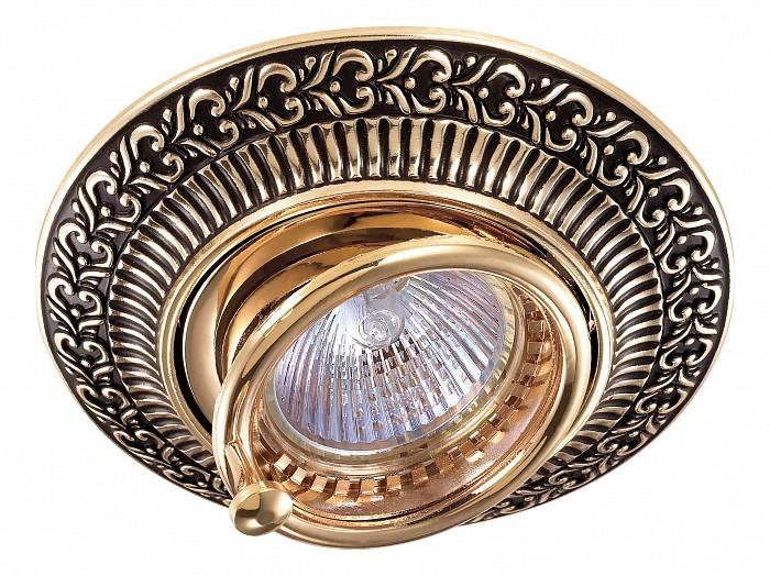Фото Встраиваемый светильник Novotech Vintage 370017