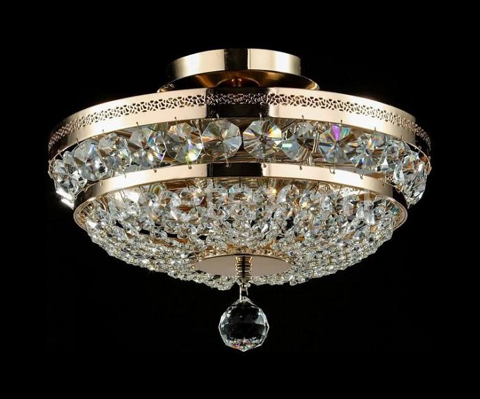 Фото Люстра на штанге Maytoni Diamant 4 P700-PT35-G