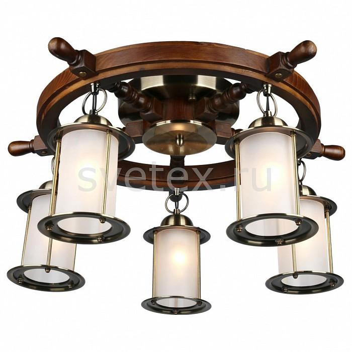 Потолочная люстра OmniluxЛюстры<br>Артикул - OM_OML-50307-05,Бренд - Omnilux (Италия),Коллекция - OML-503,Гарантия, месяцы - 24,Высота, мм - 300,Диаметр, мм - 600,Тип лампы - компактная люминесцентная [КЛЛ] ИЛИнакаливания ИЛИсветодиодная [LED],Общее кол-во ламп - 5,Напряжение питания лампы, В - 220,Максимальная мощность лампы, Вт - 60,Лампы в комплекте - отсутствуют,Цвет плафонов и подвесок - белый,Тип поверхности плафонов - матовый,Материал плафонов и подвесок - стекло,Цвет арматуры - бронза античная, дуб,Тип поверхности арматуры - матовый,Материал арматуры - металл,Количество плафонов - 5,Возможность подлючения диммера - можно, если установить лампу накаливания,Тип цоколя лампы - E27,Экономичнее лампы накаливания - Ошибка:508,Класс электробезопасности - I,Общая мощность, Вт - 300,Степень пылевлагозащиты, IP - 20,Диапазон рабочих температур - комнатная температура,Дополнительные параметры - способ крепления светильника к потолку – на монтажной пластине, стиль кантри<br>