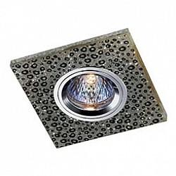 Встраиваемый светильник NovotechСветильники для натяжных потолков<br>Артикул - NV_369906,Бренд - Novotech (Венгрия),Коллекция - Shikku,Гарантия, месяцы - 24,Время изготовления, дней - 1,Тип лампы - галогеновая ИЛИсветодиодная [LED],Общее кол-во ламп - 1,Напряжение питания лампы, В - 12,Максимальная мощность лампы, Вт - 50,Лампы в комплекте - отсутствуют,Цвет арматуры - хром с черным узором,Тип поверхности арматуры - глянцевый, матовый,Материал арматуры - алюминиевый сплав,Возможность подлючения диммера - можно, если установить галогеновую лампу и подключить трансформатор 12 В с возможностью диммирования,Форма и тип колбы - полусферическая с рефлектором,Тип цоколя лампы - GX5.3,Класс электробезопасности - III,Общая мощность, Вт - 50,Степень пылевлагозащиты, IP - 20,Диапазон рабочих температур - комнатная температура,Дополнительные параметры - электрохимическая полировка арматуры<br>