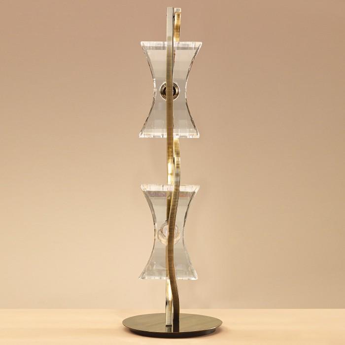 Фото Настольная лампа Mantra G9 220В 40Вт 2800-3200 K Krom Cuero 0876