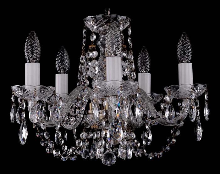 Фото Подвесная люстра Bohemia Ivele Crystal 1406 1406/5/141/Pa