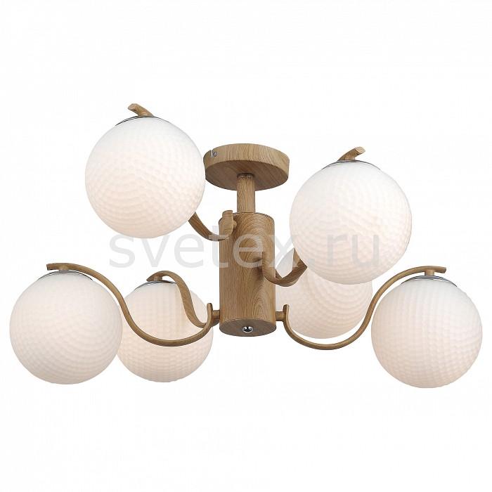 Люстра на штанге ST-LuceЛюстры<br>Артикул - SL718.702.06,Бренд - ST-Luce (Китай),Коллекция - Legno,Гарантия, месяцы - 24,Высота, мм - 280,Диаметр, мм - 800,Размер упаковки, мм - 610x550x490,Тип лампы - компактная люминесцентная [КЛЛ] ИЛИнакаливания ИЛИсветодиодная [LED],Общее кол-во ламп - 6,Напряжение питания лампы, В - 220,Максимальная мощность лампы, Вт - 60,Лампы в комплекте - отсутствуют,Цвет плафонов и подвесок - белый,Тип поверхности плафонов - матовый,Материал плафонов и подвесок - стекло,Цвет арматуры - древесный,Тип поверхности арматуры - матовый,Материал арматуры - металл,Количество плафонов - 6,Возможность подлючения диммера - можно, если установить лампу накаливания,Тип цоколя лампы - E27,Класс электробезопасности - I,Общая мощность, Вт - 360,Степень пылевлагозащиты, IP - 20,Диапазон рабочих температур - комнатная температура,Дополнительные параметры - способ крепления светильника к потолоку - на монтажной пластине<br>