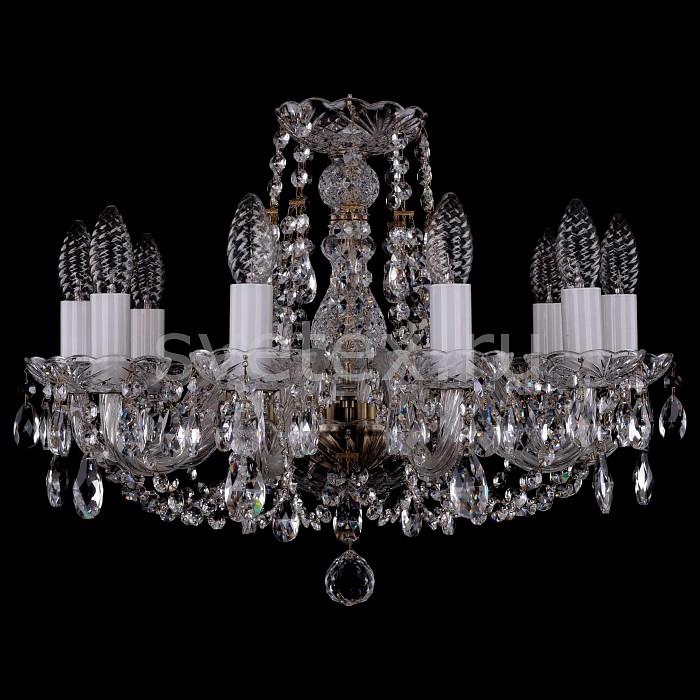 Фото Подвесная люстра Bohemia Ivele Crystal 1406 1406/10/160/Pa