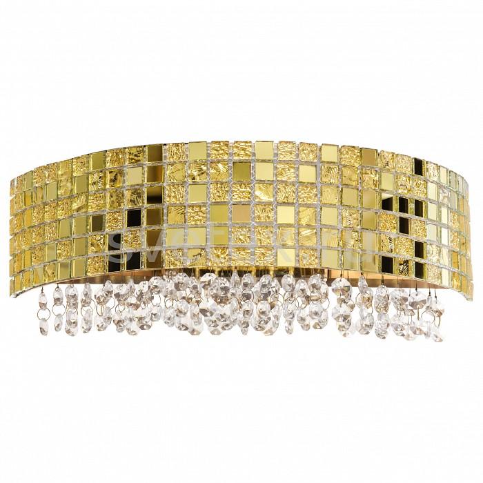 Накладной светильник LightstarС 1 плафоном<br>Артикул - LS_743622,Бренд - Lightstar (Италия),Коллекция - Bezazz,Гарантия, месяцы - 24,Ширина, мм - 380,Высота, мм - 140,Выступ, мм - 170,Тип лампы - галогеновая,Общее кол-во ламп - 2,Напряжение питания лампы, В - 220,Максимальная мощность лампы, Вт - 40,Цвет лампы - белый теплый,Лампы в комплекте - галогеновые G9,Цвет плафонов и подвесок - золото, неокрашенный,Тип поверхности плафонов - глянцевый, прозрачный,Материал плафонов и подвесок - стекло, хрусталь,Цвет арматуры - золото,Тип поверхности арматуры - глянцевый,Материал арматуры - металл,Количество плафонов - 1,Возможность подлючения диммера - можно,Форма и тип колбы - пальчиковая,Тип цоколя лампы - G9,Цветовая температура, K - 2800 - 3200 K,Экономичнее лампы накаливания - на 50%,Класс электробезопасности - I,Общая мощность, Вт - 80,Степень пылевлагозащиты, IP - 20,Диапазон рабочих температур - комнатная температура,Дополнительные параметры - способ крепления светильника на стене – на монтажной пластине, светильник предназначен для использования со скрытой проводкой<br>