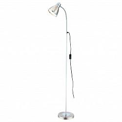 Торшер GloboСтеклянный плафон<br>Артикул - GB_24778,Бренд - Globo (Австрия),Коллекция - Ego,Гарантия, месяцы - 24,Время изготовления, дней - 1,Высота, мм - 1460,Тип лампы - компактная люминесцентная [КЛЛ] ИЛИнакаливания ИЛИсветодиодная [LED],Общее кол-во ламп - 1,Напряжение питания лампы, В - 220,Максимальная мощность лампы, Вт - 40,Лампы в комплекте - отсутствуют,Цвет плафонов и подвесок - неокрашенный, никель,Тип поверхности плафонов - матовый,Материал плафонов и подвесок - металл, стекло,Цвет арматуры - никель, хром,Тип поверхности арматуры - матовый,Материал арматуры - металл,Тип цоколя лампы - E27,Класс электробезопасности - II,Степень пылевлагозащиты, IP - 20,Диапазон рабочих температур - комнатная температура,Дополнительные параметры - поворотный светильник, провод электропитания с вилкой без заземления<br>
