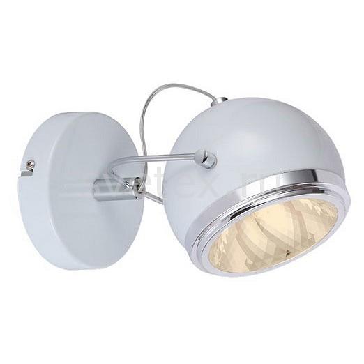 Спот Arte LampСпоты<br>Артикул - AR_A4509AP-1WH,Бренд - Arte Lamp (Италия),Коллекция - Orbiter,Гарантия, месяцы - 24,Длина, мм - 220,Ширина, мм - 130,Выступ, мм - 140,Тип лампы - галогеновая ИЛИсветодиодная [LED],Общее кол-во ламп - 1,Напряжение питания лампы, В - 220,Максимальная мощность лампы, Вт - 40,Лампы в комплекте - отсутствуют,Цвет плафонов и подвесок - белый с каймой,Тип поверхности плафонов - матовый,Материал плафонов и подвесок - металл,Цвет арматуры - белый,Тип поверхности арматуры - матовый,Материал арматуры - металл,Количество плафонов - 1,Возможность подлючения диммера - можно, если установить галогеновую лампу,Компоненты, входящие в комплект - рефлектор,Форма и тип колбы - пальчиковая,Тип цоколя лампы - G9,Класс электробезопасности - I,Степень пылевлагозащиты, IP - 20,Диапазон рабочих температур - комнатная температура,Дополнительные параметры - способ крепления светильника к стене и потолку - на монтажной пластине, повоторный светильник<br>