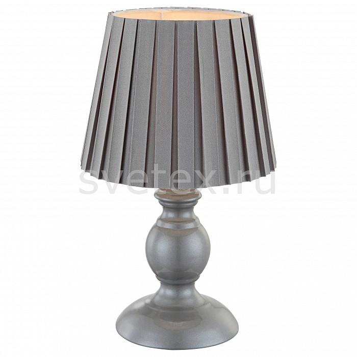 Настольная лампа GloboС абажуром<br>Артикул - GB_21691,Бренд - Globo (Австрия),Коллекция - Metalic,Гарантия, месяцы - 24,Высота, мм - 280,Диаметр, мм - 170,Размер упаковки, мм - 175x175x205,Тип лампы - компактная люминесцентная [КЛЛ] ИЛИнакаливания ИЛИсветодиодная [LED],Общее кол-во ламп - 1,Напряжение питания лампы, В - 220,Максимальная мощность лампы, Вт - 40,Лампы в комплекте - отсутствуют,Цвет плафонов и подвесок - серый,Тип поверхности плафонов - матовый,Материал плафонов и подвесок - текстиль,Цвет арматуры - серый,Тип поверхности арматуры - матовый,Материал арматуры - металл, полимер,Количество плафонов - 1,Наличие выключателя, диммера или пульта ДУ - выключатель на проводе,Компоненты, входящие в комплект - провод электропитания с вилкой без заземления,Тип цоколя лампы - E14,Класс электробезопасности - II,Степень пылевлагозащиты, IP - 20,Диапазон рабочих температур - комнатная температура<br>