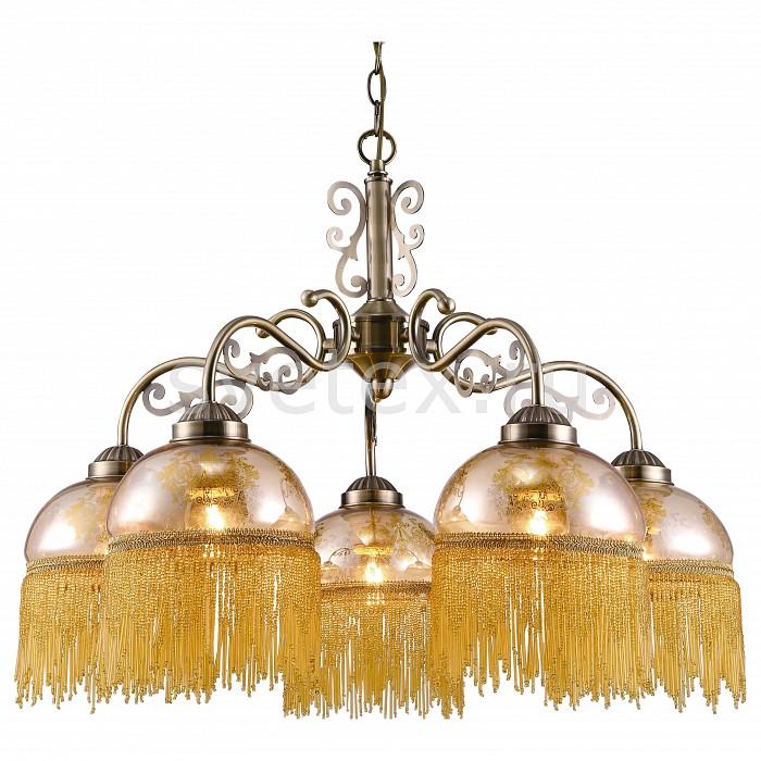 Подвесная люстра Arte LampЛюстры<br>Артикул - AR_A9560LM-5AB,Бренд - Arte Lamp (Италия),Коллекция - Perlina,Гарантия, месяцы - 24,Время изготовления, дней - 1,Высота, мм - 430-990,Диаметр, мм - 620,Тип лампы - компактная люминесцентная [КЛЛ] ИЛИнакаливания ИЛИсветодиодная [LED],Общее кол-во ламп - 5,Напряжение питания лампы, В - 220,Максимальная мощность лампы, Вт - 40,Лампы в комплекте - отсутствуют,Цвет плафонов и подвесок - янтарный с рисунком, янтарный,Тип поверхности плафонов - прозрачный,Материал плафонов и подвесок - стекло,Цвет арматуры - бронза античная,Тип поверхности арматуры - матовый,Материал арматуры - металл,Количество плафонов - 5,Возможность подлючения диммера - можно, если установить лампу накаливания,Тип цоколя лампы - E27,Класс электробезопасности - I,Общая мощность, Вт - 200,Степень пылевлагозащиты, IP - 20,Диапазон рабочих температур - комнатная температура,Дополнительные параметры - способ крепления светильника к потолку – на монтажной пластине или крюке<br>