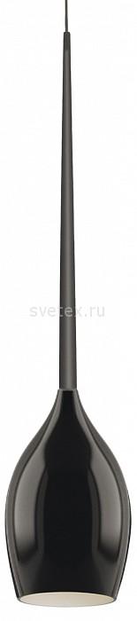 Подвесной светильник LightstarБарные<br>Артикул - LS_807117,Бренд - Lightstar (Италия),Коллекция - Meta Duovo,Гарантия, месяцы - 24,Время изготовления, дней - 1,Высота, мм - 700-1150,Диаметр, мм - 120,Тип лампы - компактная люминесцентная [КЛЛ] ИЛИнакаливания ИЛИсветодиодная [LED],Общее кол-во ламп - 1,Напряжение питания лампы, В - 220,Максимальная мощность лампы, Вт - 40,Лампы в комплекте - отсутствуют,Цвет плафонов и подвесок - черный,Тип поверхности плафонов - матовый,Материал плафонов и подвесок - стекло,Цвет арматуры - черный,Тип поверхности арматуры - глянцевый,Материал арматуры - металл,Количество плафонов - 1,Возможность подлючения диммера - можно, если установить лампу накаливания,Тип цоколя лампы - E14,Класс электробезопасности - I,Степень пылевлагозащиты, IP - 20,Диапазон рабочих температур - комнатная температура,Дополнительные параметры - способ крепления светильника к потолку - на крюке, регулируется по высоте<br>