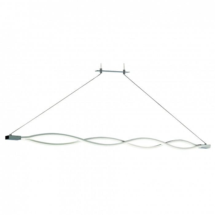 Подвесной светильник MantraСветодиодные<br>Артикул - MN_4865,Бренд - Mantra (Испания),Коллекция - Sahara,Гарантия, месяцы - 24,Длина, мм - 1370,Ширина, мм - 44,Высота, мм - 1165-1555,Тип лампы - светодиодная [LED],Общее кол-во ламп - 1,Напряжение питания лампы, В - 220,Максимальная мощность лампы, Вт - 42,Цвет лампы - белый теплый,Лампы в комплекте - светодиодная [LED] с возможностью диммирования,Цвет плафонов и подвесок - белый,Тип поверхности плафонов - матовый,Материал плафонов и подвесок - акрил,Цвет арматуры - серебро, хром,Тип поверхности арматуры - глянцевый, матовый,Материал арматуры - металл,Количество плафонов - 1,Возможность подлючения диммера - можно,Цветовая температура, K - 3000 K,Световой поток, лм - 3400,Экономичнее лампы накаливания - в 5.2 раза,Светоотдача, лм/Вт - 81,Класс электробезопасности - I,Степень пылевлагозащиты, IP - 20,Диапазон рабочих температур - комнатная температура,Дополнительные параметры - регулируется по высоте,  способ крепления светильника к потолку – на монтажной пластине<br>