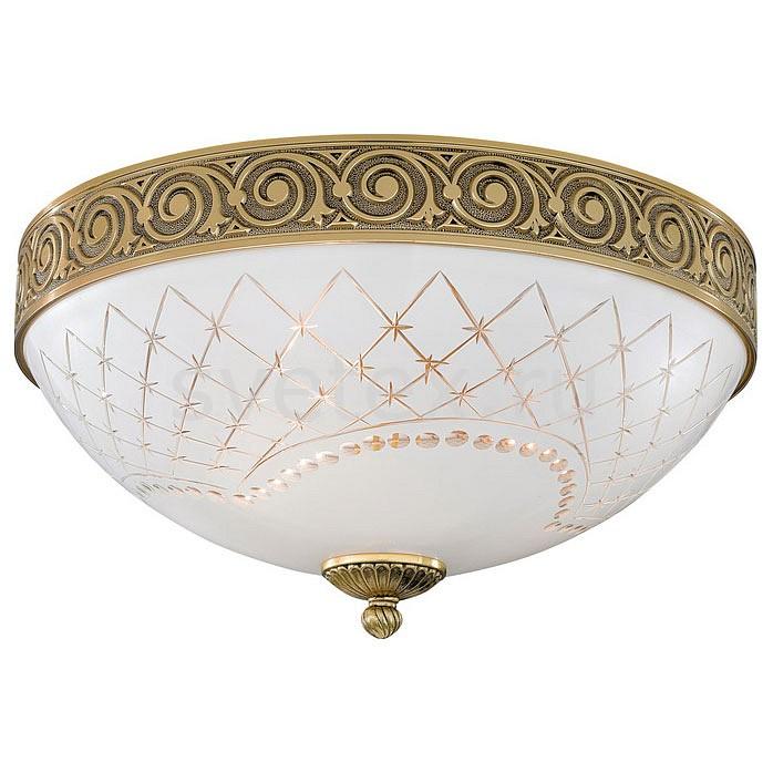 Накладной светильник Reccagni AngeloКруглые<br>Артикул - RA_PL_7102_3,Бренд - Reccagni Angelo (Италия),Коллекция - 7102,Гарантия, месяцы - 24,Высота, мм - 190,Диаметр, мм - 400,Тип лампы - компактная люминесцентная [КЛЛ] ИЛИнакаливания ИЛИсветодиодная [LED],Общее кол-во ламп - 3,Напряжение питания лампы, В - 220,Максимальная мощность лампы, Вт - 60,Лампы в комплекте - отсутствуют,Цвет плафонов и подвесок - белый с рисунком,Тип поверхности плафонов - матовый,Материал плафонов и подвесок - стекло,Цвет арматуры - золото французское,Тип поверхности арматуры - глянцевый, рельефный,Материал арматуры - латунь,Количество плафонов - 1,Возможность подлючения диммера - можно, если установить лампу накаливания,Тип цоколя лампы - E27,Класс электробезопасности - I,Общая мощность, Вт - 180,Степень пылевлагозащиты, IP - 20,Диапазон рабочих температур - комнатная температура,Дополнительные параметры - способ крепления светильника к потолку - на монтажной пластине<br>