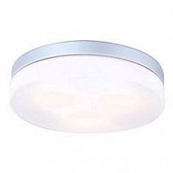 Накладной светильник GloboКруглые<br>Артикул - GB_32113,Бренд - Globo (Австрия),Коллекция - Vranos,Гарантия, месяцы - 24,Диаметр, мм - 300,Размер упаковки, мм - 125x350x345,Тип лампы - компактная люминесцентная [КЛЛ] ИЛИнакаливания ИЛИсветодиодная [LED],Общее кол-во ламп - 3,Напряжение питания лампы, В - 220,Максимальная мощность лампы, Вт - 40,Лампы в комплекте - отсутствуют,Цвет плафонов и подвесок - опал,Тип поверхности плафонов - матовый,Материал плафонов и подвесок - стекло,Цвет арматуры - серебро,Тип поверхности арматуры - матовый,Материал арматуры - дюралюминий,Тип цоколя лампы - E27,Класс электробезопасности - I,Общая мощность, Вт - 120,Степень пылевлагозащиты, IP - 44<br>