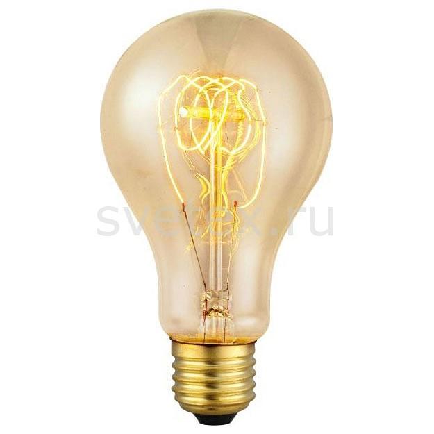 Лампа накаливания Egloлампа накаливания 60 вт<br>Артикул - eg_49503,Бренд - Eglo (Австрия),Коллекция - Vintage,Время изготовления, дней - 1,Высота, мм - 138,Диаметр, мм - 75,Тип лампы - накаливания,Напряжение питания лампы, В - 220,Максимальная мощность лампы, Вт - 60,Цвет лампы - белый теплый,Форма и тип колбы - груша круглая,Тип цоколя лампы - E27,Цветовая температура, K - 2700 K,Световой поток, лм - 330,Ресурс лампы - 2.5 тыс. часов<br>