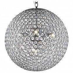 Подвесной светильник Odeon LightС 1 плафоном<br>Артикул - OD_2704_5,Бренд - Odeon Light (Италия),Коллекция - Tola,Гарантия, месяцы - 24,Время изготовления, дней - 1,Высота, мм - 1400,Диаметр, мм - 400,Тип лампы - галогеновая,Общее кол-во ламп - 5,Напряжение питания лампы, В - 220,Максимальная мощность лампы, Вт - 40,Лампы в комплекте - галогеновые G9,Цвет плафонов и подвесок - неокрашенный, хром,Тип поверхности плафонов - прозрачный,Материал плафонов и подвесок - металл, хрусталь,Цвет арматуры - хром,Тип поверхности арматуры - глянцевый,Материал арматуры - металл,Возможность подлючения диммера - можно,Форма и тип колбы - пальчиковая,Тип цоколя лампы - G9,Класс электробезопасности - I,Общая мощность, Вт - 200,Степень пылевлагозащиты, IP - 20,Диапазон рабочих температур - комнатная температура<br>