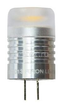 Фото Лампа светодиодная Feron G4 12В 3Вт 4000 K LB-414 25288