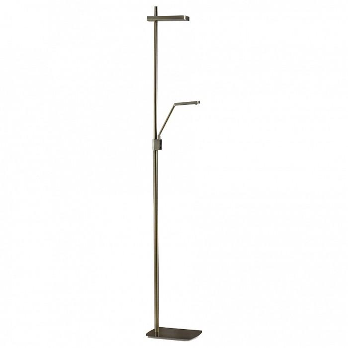 Торшер с подсветкой MantraСветильники<br>Артикул - MN_4941,Бренд - Mantra (Испания),Коллекция - Phuket,Гарантия, месяцы - 24,Ширина, мм - 180,Высота, мм - 1800,Выступ, мм - 400,Тип лампы - светодиодная [LED],Общее кол-во ламп - 2,Максимальная мощность лампы, Вт - 14,Цвет лампы - белый теплый,Лампы в комплекте - светодиодные [LED],Цвет плафонов и подвесок - бронза античная,Тип поверхности плафонов - матовый,Материал плафонов и подвесок - металл,Цвет арматуры - бронза античная,Тип поверхности арматуры - матовый,Материал арматуры - металл,Количество плафонов - 2,Наличие выключателя, диммера или пульта ДУ - выключатель,Компоненты, входящие в комплект - провод электропитания с вилкой без заземления,Цветовая температура, K - 3000 K,Световой поток, лм - 1200,Экономичнее лампы накаливания - в 6.7 раза,Светоотдача, лм/Вт - 100,Класс электробезопасности - II,Напряжение питания, В - 220,Общая мощность, Вт - 28,Степень пылевлагозащиты, IP - 20,Диапазон рабочих температур - комнатная температура,Дополнительные параметры - поворотный светильник<br>