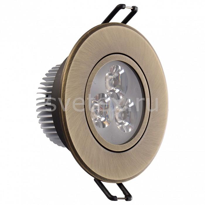 Фото Встраиваемый светильник MW-Light Круз 637012203