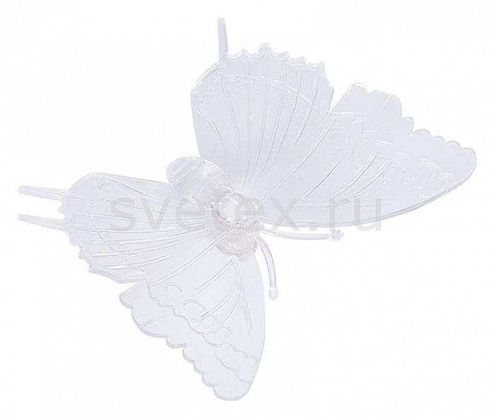Фото Панно световое Неон-Найт x 10 см x 9 см Бабочка 501-029