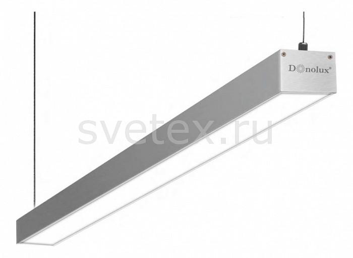 Подвесной светильник DonoluxСветильники<br>Артикул - do_dl18511s150ww30,Бренд - Donolux (Китай),Коллекция - 1851,Гарантия, месяцы - 24,Длина, мм - 1500,Ширина, мм - 50,Высота, мм - 35,Тип лампы - светодиодная [LED],Общее кол-во ламп - 1,Напряжение питания лампы, В - 220,Максимальная мощность лампы, Вт - 28.8,Цвет лампы - белый теплый,Лампы в комплекте - светодиодная [LED],Цвет плафонов и подвесок - белый,Тип поверхности плафонов - матовый,Материал плафонов и подвесок - полимер,Цвет арматуры - серый,Тип поверхности арматуры - матовый,Материал арматуры - металл,Количество плафонов - 1,Цветовая температура, K - 3000 K,Световой поток, лм - 1980,Экономичнее лампы накаливания - в 5 раз,Светоотдача, лм/Вт - 69,Класс электробезопасности - I,Степень пылевлагозащиты, IP - 20,Диапазон рабочих температур - комнатная температура,Дополнительные параметры - способ крепления светильника к потолку - на монтажной пластине, указана высота светильника без подвеса<br>