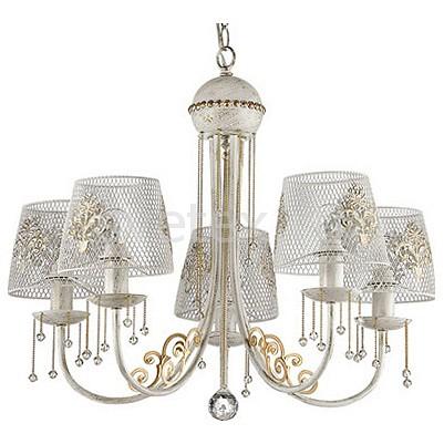 Подвесная люстра LumionСветильники<br>Артикул - LMN_3211_5,Бренд - Lumion (Италия),Коллекция - Pakka,Гарантия, месяцы - 24,Высота, мм - 790,Диаметр, мм - 540,Размер упаковки, мм - 165x280x180,Тип лампы - компактная люминесцентная [КЛЛ] ИЛИнакаливания ИЛИсветодиодная [LED],Общее кол-во ламп - 5,Напряжение питания лампы, В - 220,Максимальная мощность лампы, Вт - 60,Лампы в комплекте - отсутствуют,Цвет плафонов и подвесок - белый, белый с рисунком,Тип поверхности плафонов - матовый, прозрачный,Материал плафонов и подвесок - жемчуг искусственный, металл,Цвет арматуры - белый с золотой патиной,Тип поверхности арматуры - матовый,Материал арматуры - металл,Количество плафонов - 5,Возможность подлючения диммера - можно, если установить лампу накаливания,Тип цоколя лампы - E27,Класс электробезопасности - I,Общая мощность, Вт - 300,Степень пылевлагозащиты, IP - 20,Диапазон рабочих температур - комнатная температура,Дополнительные параметры - способ крепления к потолку - на крюке, указана высота светильника без подвеса<br>