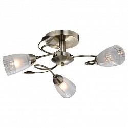 Люстра на штанге IDLampНе более 4 ламп<br>Артикул - ID_858_3PF-oldbronze,Бренд - IDLamp (Италия),Коллекция - 858,Гарантия, месяцы - 24,Высота, мм - 260,Диаметр, мм - 560,Тип лампы - компактная люминесцентная [КЛЛ] ИЛИнакаливания ИЛИсветодиодная [LED],Общее кол-во ламп - 3,Напряжение питания лампы, В - 220,Максимальная мощность лампы, Вт - 60,Лампы в комплекте - отсутствуют,Цвет плафонов и подвесок - неокрашенный,Тип поверхности плафонов - матовый, рельефный,Материал плафонов и подвесок - стекло,Цвет арматуры - старая бронза,Тип поверхности арматуры - глянцевый,Материал арматуры - металл,Возможность подлючения диммера - можно, если установить лампу накаливания,Тип цоколя лампы - E14,Класс электробезопасности - I,Общая мощность, Вт - 180,Степень пылевлагозащиты, IP - 20,Диапазон рабочих температур - комнатная температура,Дополнительные параметры - способ крепления светильника к потолку — на монтажной пластине, если Вам нужно повесить светильник на крюк, укажите это в комментарии к заказу, - мы положим в подарок пластину с ушком для крюка<br>