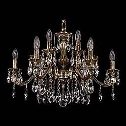 Подвесная люстра Bohemia Ivele CrystalБолее 6 ламп<br>Артикул - BI_1703_12_225_A_GB,Бренд - Bohemia Ivele Crystal (Чехия),Коллекция - 1703,Гарантия, месяцы - 24,Высота, мм - 430,Диаметр, мм - 650,Размер упаковки, мм - 640x640x320,Тип лампы - компактная люминесцентная [КЛЛ] ИЛИнакаливания ИЛИсветодиодная [LED],Общее кол-во ламп - 12,Напряжение питания лампы, В - 220,Максимальная мощность лампы, Вт - 40,Лампы в комплекте - отсутствуют,Цвет плафонов и подвесок - неокрашенный,Тип поверхности плафонов - прозрачный,Материал плафонов и подвесок - хрусталь,Цвет арматуры - золото черненое,Тип поверхности арматуры - глянцевый, рельефный,Материал арматуры - латунь,Возможность подлючения диммера - можно, если установить лампу накаливания,Форма и тип колбы - свеча ИЛИ свеча на ветру,Тип цоколя лампы - E14,Класс электробезопасности - I,Общая мощность, Вт - 480,Степень пылевлагозащиты, IP - 20,Диапазон рабочих температур - комнатная температура,Дополнительные параметры - способ крепления светильника к потолку - на крюке, указана высота светильника без подвеса<br>