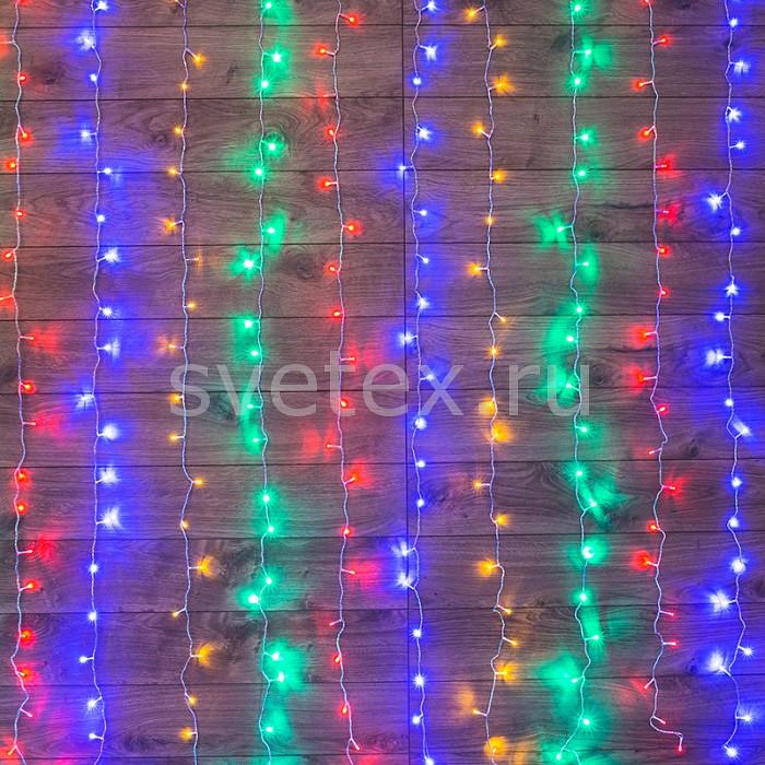 Фото Занавес световой Неон-Найт x 1.5 м x 1.5 м Home 235-039