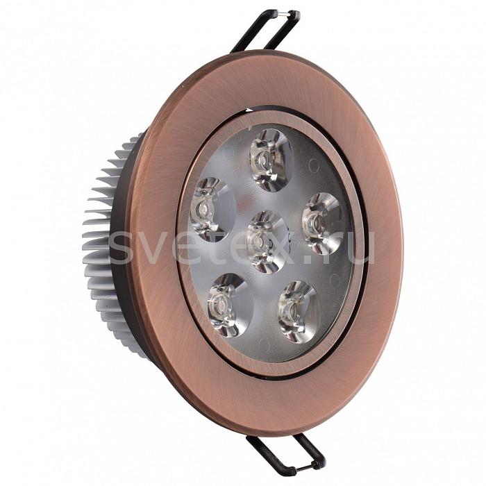 Фото Встраиваемый светильник MW-Light Круз 637013206