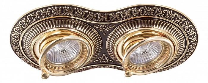 Фото Встраиваемый светильник Novotech Vintage 370014