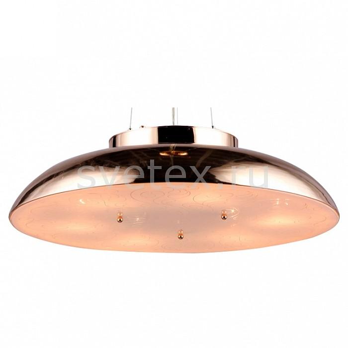 Подвесной светильник MaytoniСветодиодные<br>Артикул - MY_CL814-06-G,Бренд - Maytoni (Германия),Коллекция - Differentos,Гарантия, месяцы - 24,Высота, мм - 130,Диаметр, мм - 500,Тип лампы - компактная люминесцентная [КЛЛ] ИЛИнакаливания ИЛИсветодиодная [LED],Общее кол-во ламп - 6,Напряжение питания лампы, В - 220,Максимальная мощность лампы, Вт - 60,Лампы в комплекте - отсутствуют,Цвет плафонов и подвесок - золото, неокрашенный,Тип поверхности плафонов - глянцевый, матовый,Материал плафонов и подвесок - металл, стекло,Цвет арматуры - золото,Тип поверхности арматуры - глянцевый,Материал арматуры - металл,Количество плафонов - 1,Возможность подлючения диммера - можно, если установить лампу накаливания,Тип цоколя лампы - E14,Класс электробезопасности - I,Общая мощность, Вт - 360,Степень пылевлагозащиты, IP - 20,Диапазон рабочих температур - комнатная температура,Дополнительные параметры - способ крепления светильника к потолку – на монтажной пластине<br>