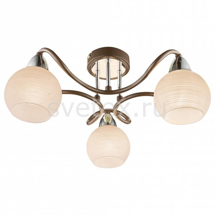 Потолочная люстра GloboЛюстры<br>Артикул - GB_541005-3D,Бренд - Globo (Австрия),Коллекция - Osasco,Гарантия, месяцы - 24,Высота, мм - 190,Диаметр, мм - 450,Тип лампы - компактная люминесцентная [КЛЛ] ИЛИнакаливания ИЛИсветодиодная [LED],Общее кол-во ламп - 3,Напряжение питания лампы, В - 220,Максимальная мощность лампы, Вт - 40,Лампы в комплекте - отсутствуют,Цвет плафонов и подвесок - белый,Тип поверхности плафонов - матовый,Материал плафонов и подвесок - стекло,Цвет арматуры - бронза, хром,Тип поверхности арматуры - глянцевый, матовый,Материал арматуры - металл,Количество плафонов - 3,Возможность подлючения диммера - можно, если установить лампу накаливания,Тип цоколя лампы - E14,Класс электробезопасности - I,Общая мощность, Вт - 120,Степень пылевлагозащиты, IP - 20,Диапазон рабочих температур - комнатная температура,Дополнительные параметры - способ крепления светильника к потолку - на монтажной пластине<br>