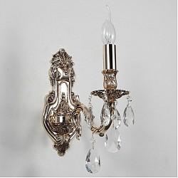 Бра Lucia TucciС 1 лампой<br>Артикул - LT_FIRENZE_W141.1_coffe_gold,Бренд - Lucia Tucci (Италия),Коллекция - Firenze,Гарантия, месяцы - 24,Высота, мм - 440,Тип лампы - компактная люминесцентная [КЛЛ] ИЛИнакаливания ИЛИсветодиодная [LED],Общее кол-во ламп - 1,Напряжение питания лампы, В - 220,Максимальная мощность лампы, Вт - 60,Лампы в комплекте - отсутствуют,Цвет плафонов и подвесок - неокрашенный,Тип поверхности плафонов - прозрачный,Материал плафонов и подвесок - хрусталь,Цвет арматуры - золото кофейное,Тип поверхности арматуры - глянцевый, рельефный,Материал арматуры - металл,Возможность подлючения диммера - можно, если установить лампу накаливания,Форма и тип колбы - свеча ИЛИ свеча на ветру,Тип цоколя лампы - E14,Класс электробезопасности - I,Степень пылевлагозащиты, IP - 20,Диапазон рабочих температур - комнатная температура,Дополнительные параметры - светильник предназначен для использования со скрытой проводкой<br>