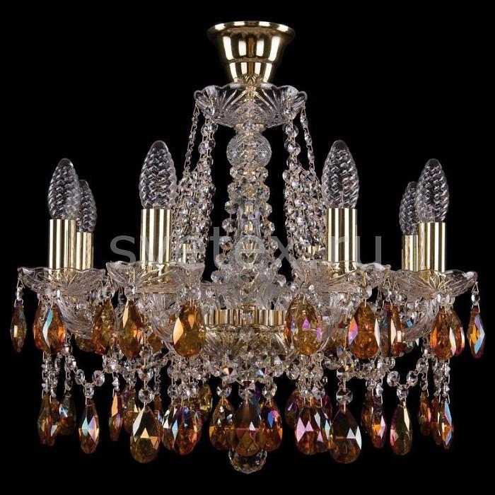 Подвесная люстра Bohemia Ivele CrystalБолее 6 ламп<br>Артикул - BI_1413_8_165_G_K711,Бренд - Bohemia Ivele Crystal (Чехия),Коллекция - 1413,Гарантия, месяцы - 24,Высота, мм - 400,Диаметр, мм - 510,Размер упаковки, мм - 450x450x200,Тип лампы - компактная люминесцентная [КЛЛ] ИЛИнакаливания ИЛИсветодиодная [LED],Общее кол-во ламп - 8,Напряжение питания лампы, В - 220,Максимальная мощность лампы, Вт - 40,Лампы в комплекте - отсутствуют,Цвет плафонов и подвесок - красное вино, неокрашенный,Тип поверхности плафонов - прозрачный,Материал плафонов и подвесок - хрусталь,Цвет арматуры - золото, неокрашенный,Тип поверхности арматуры - глянцевый, прозрачный, рельефный,Материал арматуры - металл, стекло,Возможность подлючения диммера - можно, если установить лампу накаливания,Форма и тип колбы - свеча ИЛИ свеча на ветру,Тип цоколя лампы - E14,Класс электробезопасности - I,Общая мощность, Вт - 320,Степень пылевлагозащиты, IP - 20,Диапазон рабочих температур - комнатная температура,Дополнительные параметры - способ крепления светильника к потолку - на крюке, указана высота светильника без подвеса<br>