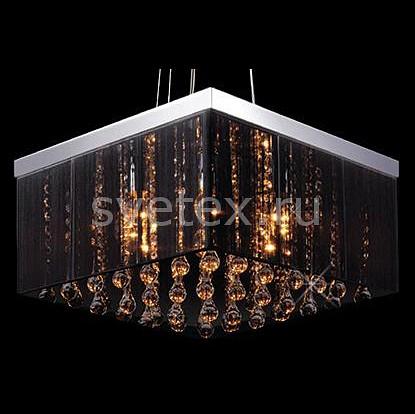 Фото Подвесной светильник Eurosvet 3267 3267/8 хром/черный