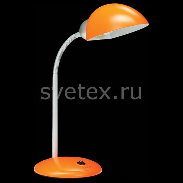 Настольная лампа EurosvetСветильники<br>Артикул - EV_6591,Бренд - Eurosvet (Китай),Коллекция - 1926,Гарантия, месяцы - 24,Ширина, мм - 180,Высота, мм - 660,Выступ, мм - 180,Тип лампы - компактная люминесцентная [КЛЛ] ИЛИсветодиодная [LED],Общее кол-во ламп - 1,Напряжение питания лампы, В - 220,Максимальная мощность лампы, Вт - 15,Лампы в комплекте - отсутствуют,Цвет плафонов и подвесок - оранжевый,Тип поверхности плафонов - матовый,Материал плафонов и подвесок - полимер,Цвет арматуры - оранжевый, хром,Тип поверхности арматуры - глянцевый, матовый,Материал арматуры - металл, полимер,Количество плафонов - 1,Наличие выключателя, диммера или пульта ДУ - выключатель,Компоненты, входящие в комплект - провод электропитания с вилкой без заземления,Тип цоколя лампы - E27,Класс электробезопасности - II,Степень пылевлагозащиты, IP - 20,Диапазон рабочих температур - комнатная температура,Дополнительные параметры - поворотный светильник<br>