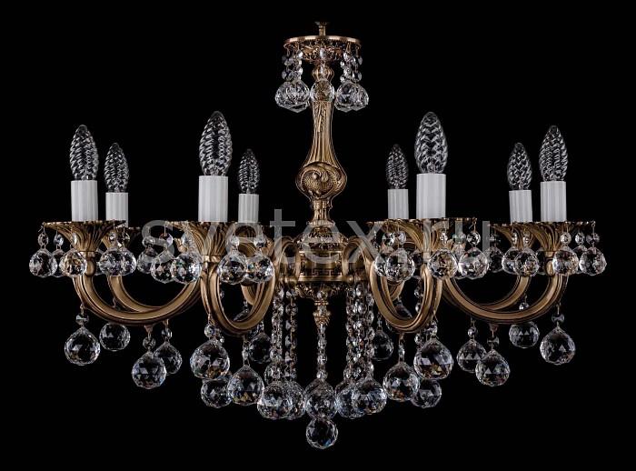 Фото Подвесная люстра Bohemia Ivele Crystal 1702 1702/8/B/FP/Balls