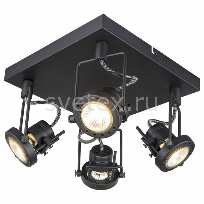 Спот Arte LampКвадратные<br>Артикул - AR_A4300PL-4BK,Бренд - Arte Lamp (Италия),Коллекция - Costruttore,Гарантия, месяцы - 24,Длина, мм - 240,Ширина, мм - 240,Выступ, мм - 150,Размер упаковки, мм - 250x245x170,Тип лампы - галогеновая ИЛИсветодиодная [LED],Общее кол-во ламп - 4,Напряжение питания лампы, В - 220,Максимальная мощность лампы, Вт - 50,Лампы в комплекте - отсутствуют,Цвет арматуры - черный,Тип поверхности арматуры - матовый,Материал арматуры - металл,Возможность подлючения диммера - можно, если установить галогеновую лампу,Форма и тип колбы - полусферическая с рефлектором,Тип цоколя лампы - GU10,Класс электробезопасности - I,Общая мощность, Вт - 200,Степень пылевлагозащиты, IP - 20,Диапазон рабочих температур - комнатная температура,Дополнительные параметры - поворотный светильник<br>