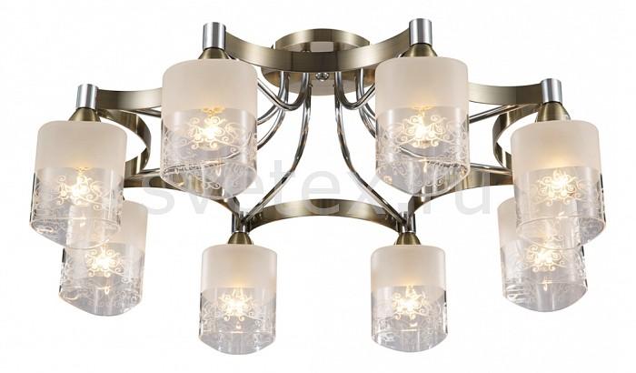 Потолочная люстра MaytoniЛюстры<br>Артикул - MY_TOC003-08-R,Бренд - Maytoni (Германия),Коллекция - Eurosize 3,Гарантия, месяцы - 24,Высота, мм - 220,Диаметр, мм - 680,Тип лампы - компактная люминесцентная [КЛЛ] ИЛИнакаливания ИЛИсветодиодная [LED],Общее кол-во ламп - 8,Напряжение питания лампы, В - 220,Максимальная мощность лампы, Вт - 60,Лампы в комплекте - отсутствуют,Цвет плафонов и подвесок - белый с неокрашенной каймой,Тип поверхности плафонов - матовый,Материал плафонов и подвесок - стекло,Цвет арматуры - бронза, хром,Тип поверхности арматуры - глянцевый,Материал арматуры - металл,Количество плафонов - 8,Возможность подлючения диммера - можно, если установить лампу накаливания,Тип цоколя лампы - E14,Класс электробезопасности - I,Общая мощность, Вт - 480,Степень пылевлагозащиты, IP - 20,Диапазон рабочих температур - комнатная температура<br>