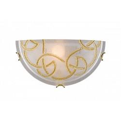 Накладной светильник SonexСветодиодные<br>Артикул - SN_012,Бренд - Sonex (Россия),Коллекция - Brena Gold,Гарантия, месяцы - 24,Время изготовления, дней - 1,Высота, мм - 150,Тип лампы - компактная люминесцентная [КЛЛ] ИЛИнакаливания ИЛИсветодиодная [LED],Общее кол-во ламп - 1,Напряжение питания лампы, В - 220,Максимальная мощность лампы, Вт - 100,Лампы в комплекте - отсутствуют,Цвет плафонов и подвесок - белый с золотым орнаментом,Тип поверхности плафонов - матовый,Материал плафонов и подвесок - стекло,Цвет арматуры - бронза,Тип поверхности арматуры - глянцевый,Материал арматуры - металл,Возможность подлючения диммера - можно, если установить лампу накаливания,Тип цоколя лампы - E27,Класс электробезопасности - I,Степень пылевлагозащиты, IP - 20,Диапазон рабочих температур - комнатная температура<br>