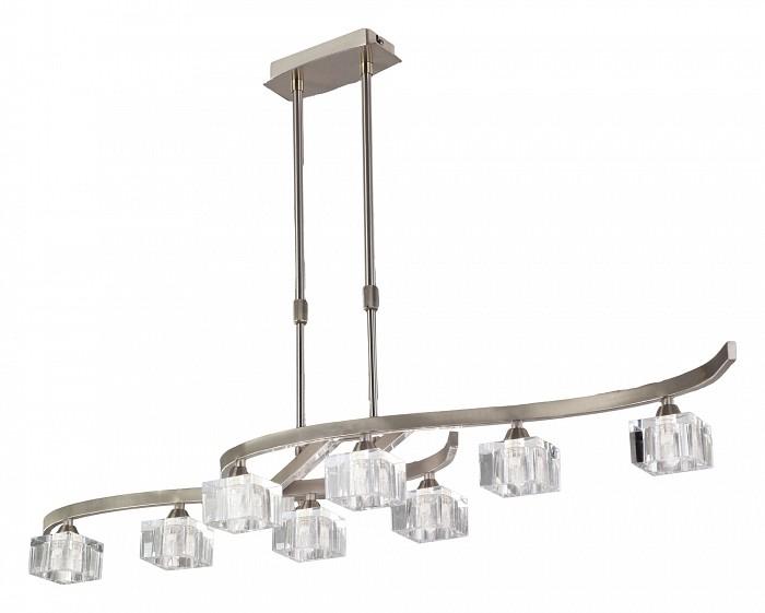 Светильник на штанге MantraСветильники<br>Артикул - MN_1116,Бренд - Mantra (Испания),Коллекция - Cuadrax,Гарантия, месяцы - 24,Время изготовления, дней - 1,Длина, мм - 1160,Высота, мм - 490-770,Тип лампы - галогеновая,Общее кол-во ламп - 8,Напряжение питания лампы, В - 220,Максимальная мощность лампы, Вт - 40,Цвет лампы - белый теплый,Лампы в комплекте - галогеновые G9,Цвет плафонов и подвесок - неокрашенный,Тип поверхности плафонов - прозрачный,Материал плафонов и подвесок - стекло,Цвет арматуры - никель,Тип поверхности арматуры - сатин,Материал арматуры - металл,Количество плафонов - 8,Возможность подлючения диммера - можно,Форма и тип колбы - пальчиковая,Тип цоколя лампы - G9,Цветовая температура, K - 2800 - 3200 K,Экономичнее лампы накаливания - на 50%,Класс электробезопасности - I,Общая мощность, Вт - 320,Степень пылевлагозащиты, IP - 20,Диапазон рабочих температур - комнатная температура<br>