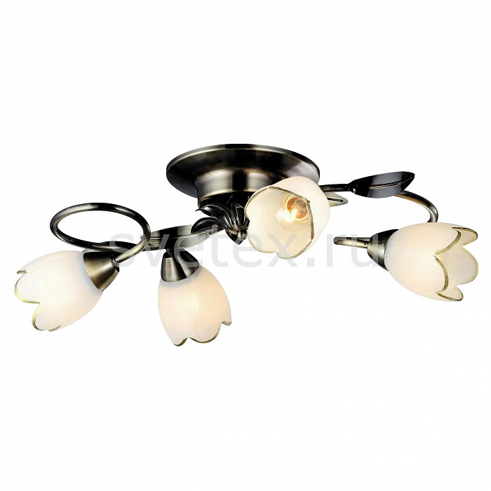 Потолочная люстра Arte LampЛюстры<br>Артикул - AR_A6061PL-4AB,Бренд - Arte Lamp (Италия),Коллекция - Perce,Гарантия, месяцы - 24,Время изготовления, дней - 1,Высота, мм - 200,Диаметр, мм - 560,Тип лампы - компактная люминесцентная [КЛЛ] ИЛИнакаливания ИЛИсветодиодная [LED],Общее кол-во ламп - 4,Напряжение питания лампы, В - 220,Максимальная мощность лампы, Вт - 60,Лампы в комплекте - отсутствуют,Цвет плафонов и подвесок - белый с каймой,Тип поверхности плафонов - матовый,Материал плафонов и подвесок - стекло,Цвет арматуры - бронза античная,Тип поверхности арматуры - глянцевый,Материал арматуры - металл,Количество плафонов - 4,Возможность подлючения диммера - можно, если установить лампу накаливания,Тип цоколя лампы - E14,Класс электробезопасности - I,Общая мощность, Вт - 240,Степень пылевлагозащиты, IP - 20,Диапазон рабочих температур - комнатная температура,Дополнительные параметры - способ крепления светильника к потолку – на монтажной пластине<br>