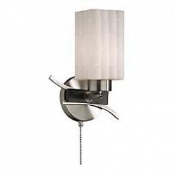 Бра Odeon LightС 1 лампой<br>Артикул - OD_2283_1W,Бренд - Odeon Light (Италия),Коллекция - Nuki,Гарантия, месяцы - 24,Время изготовления, дней - 1,Высота, мм - 260,Тип лампы - компактная люминесцентная [КЛЛ] ИЛИнакаливания ИЛИсветодиодная [LED],Общее кол-во ламп - 1,Напряжение питания лампы, В - 220,Максимальная мощность лампы, Вт - 60,Лампы в комплекте - отсутствуют,Цвет плафонов и подвесок - белый,Тип поверхности плафонов - матовый, рельефный,Материал плафонов и подвесок - стекло,Цвет арматуры - венге, никель,Тип поверхности арматуры - матовый, глянцевый,Материал арматуры - металл,Возможность подлючения диммера - можно, если установить лампу накаливания,Тип цоколя лампы - E27,Класс электробезопасности - I,Степень пылевлагозащиты, IP - 20,Диапазон рабочих температур - комнатная температура,Дополнительные параметры - светильник предназначен для использования со скрытой проводкой<br>