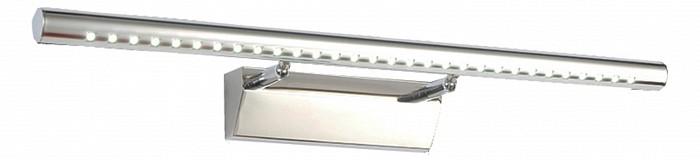 Подсветка для картин Kink LightСветодиодные<br>Артикул - KL_07915,Бренд - Kink Light (Китай),Коллекция - Проекция,Гарантия, месяцы - 24,Ширина, мм - 400,Высота, мм - 110,Выступ, мм - 110,Размер упаковки, мм - 450x110x110,Тип лампы - светодиодная [LED],Общее кол-во ламп - 1,Максимальная мощность лампы, Вт - 5,Цвет лампы - белый,Лампы в комплекте - светодиодная [LED],Цвет плафонов и подвесок - хром,Тип поверхности плафонов - глянцевый,Материал плафонов и подвесок - сталь нержавеющая,Цвет арматуры - хром,Тип поверхности арматуры - глянцевый,Материал арматуры - сталь нержавеющая,Количество плафонов - 1,Цветовая температура, K - 4000 K,Световой поток, лм - 500,Экономичнее лампы накаливания - в 10 раз,Светоотдача, лм/Вт - 100,Класс электробезопасности - I,Напряжение питания, В - 220,Степень пылевлагозащиты, IP - 20,Диапазон рабочих температур - комнатная температура,Дополнительные параметры - светильник предназначен для использования со скрытой проводкой<br>