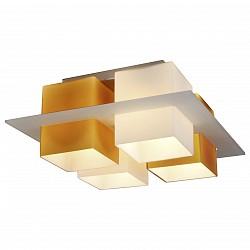 Потолочная люстра ST-LuceНе более 4 ламп<br>Артикул - SL540.092.04,Бренд - ST-Luce (Китай),Коллекция - Solido,Гарантия, месяцы - 24,Высота, мм - 170,Размер упаковки, мм - 475x475x255,Тип лампы - компактная люминесцентная [КЛЛ] ИЛИнакаливания ИЛИсветодиодная [LED],Общее кол-во ламп - 4,Напряжение питания лампы, В - 220,Максимальная мощность лампы, Вт - 60,Лампы в комплекте - отсутствуют,Цвет плафонов и подвесок - белый, янтарный,Тип поверхности плафонов - матовый,Материал плафонов и подвесок - стекло,Цвет арматуры - никель,Тип поверхности арматуры - сатин,Материал арматуры - металл,Возможность подлючения диммера - можно, если установить лампу накаливания,Тип цоколя лампы - E27,Класс электробезопасности - I,Общая мощность, Вт - 240,Степень пылевлагозащиты, IP - 20,Диапазон рабочих температур - комнатная температура,Дополнительные параметры - способ крепления светильника к потолку – на монтажной пластине<br>