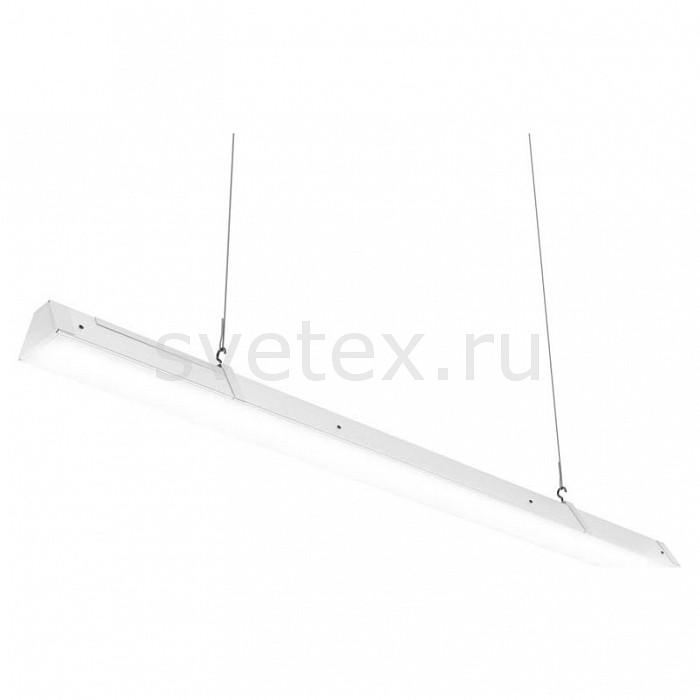 Подвесной светильник Led EffectСветодиодные<br>Артикул - LED_314487,Бренд - Led Effect (Россия),Коллекция - Ритейл,Гарантия, месяцы - 36,Длина, мм - 1445,Ширина, мм - 113,Высота, мм - 111,Размер упаковки, мм - 1560x130x90,Тип лампы - светодиодная [LED],Общее кол-во ламп - 1,Максимальная мощность лампы, Вт - 55,Цвет лампы - белый,Лампы в комплекте - светодиодная [LED],Цвет плафонов и подвесок - белый,Тип поверхности плафонов - матовый,Материал плафонов и подвесок - полимер,Цвет арматуры - белый,Тип поверхности арматуры - матовый,Материал арматуры - металл,Количество плафонов - 1,Цветовая температура, K - 4000 K,Световой поток, лм - 5000,Экономичнее лампы накаливания - В 5, 5 раза,Светоотдача, лм/Вт - 91,Ресурс лампы - 50 тыс. час.,Класс электробезопасности - I,Напряжение питания, В - 175-260,Коэффициент мощности - 0.9,Степень пылевлагозащиты, IP - 20,Диапазон рабочих температур - от -0^C до +45^C,Индекс цветопередачи, % - 80,Пульсации светового потока, % менее - 1,Климатическое исполнение - УХЛ 4,Дополнительные параметры - проходной светильник, указана высота светильника без подвеса, текстурированный рассеиватель<br>