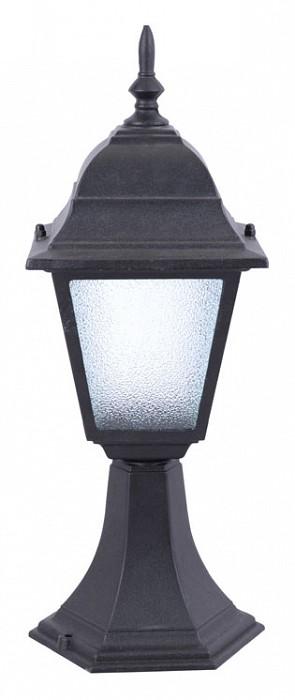 Фото Наземный низкий светильник Arte Lamp Bremen A1014FN-1BK